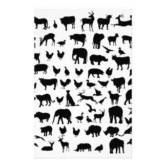 私は動物を愛します 便箋