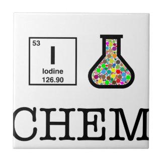 私は化学を愛します タイル