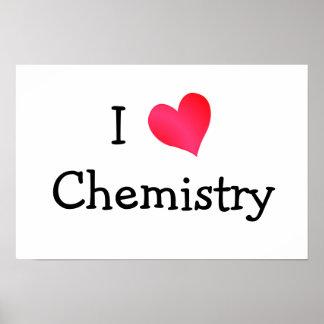 私は化学を愛します ポスター