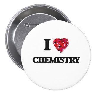 私は化学を愛します 7.6CM 丸型バッジ
