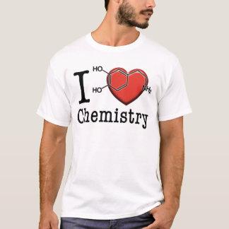 私は化学を愛します Tシャツ