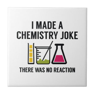 私は化学冗談を作りました タイル