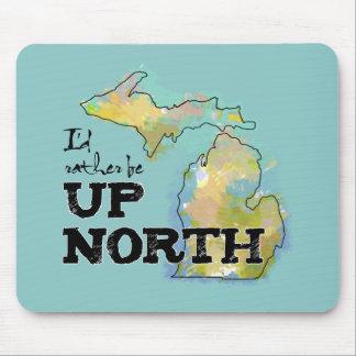 私は北のミシガン州の上にむしろあります マウスパッド