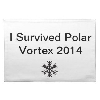 私は北極の渦2を生き延びました ランチョンマット