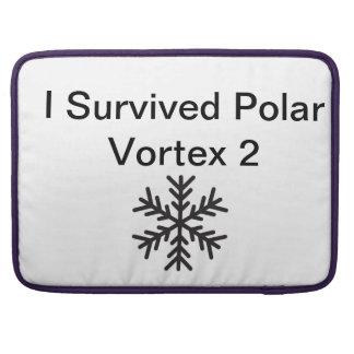 私は北極の渦2を生き延びました MacBook PROスリーブ