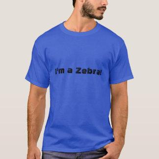 私は医学のシマウマです Tシャツ
