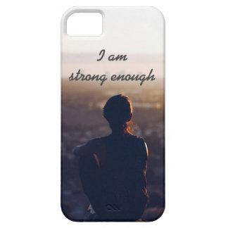 私は十分に強いです iPhone SE/5/5s ケース