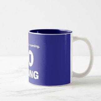 私は午前中不機嫌。、いいえでなく、からかいます ツートーンマグカップ