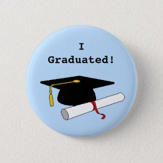 私は卒業しました! ボタン 5.7CM 丸型バッジ