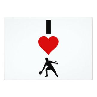 私は卓球を愛します(縦) カード