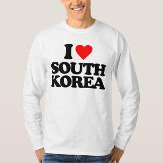 私は南朝鮮を愛します Tシャツ