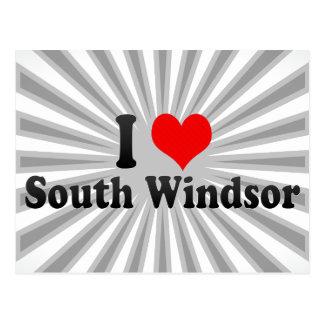 私は南Windsor、米国を愛します ポストカード