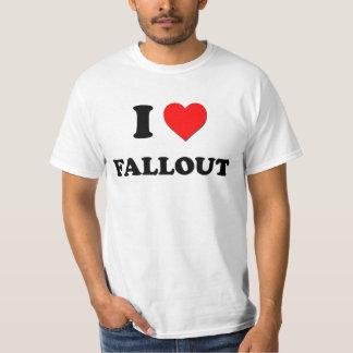 私は原子灰を愛します Tシャツ