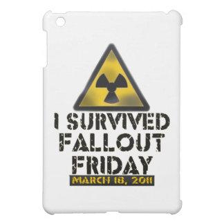 私は原子灰金曜日- 03.18.11 --を生き延びました iPad MINIケース
