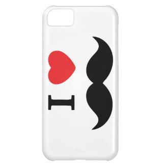 私は口ひげのiPhoneの場合を愛します iPhone5Cケース