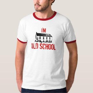 私は古い学校です Tシャツ