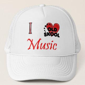 私は古い学校音楽を愛します キャップ