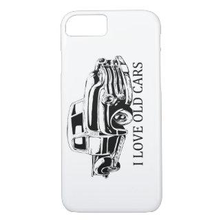 私は古い車のiPhone 7の場合を愛します iPhone 8/7ケース