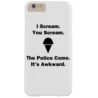 私は叫び叫びます BARELY THERE iPhone 6 PLUS ケース