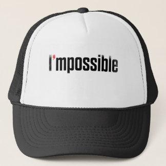 私は可能なデザインの帽子です キャップ