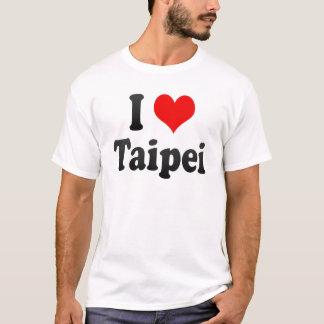 私は台北、台湾を愛します Tシャツ