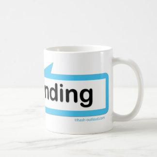 私は向いています コーヒーマグカップ