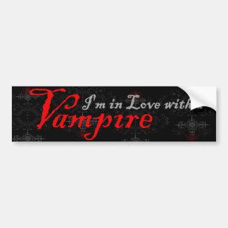 私は吸血鬼との愛にあります バンパーステッカー