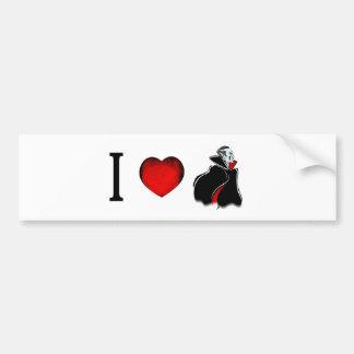 私は吸血鬼を愛します バンパーステッカー