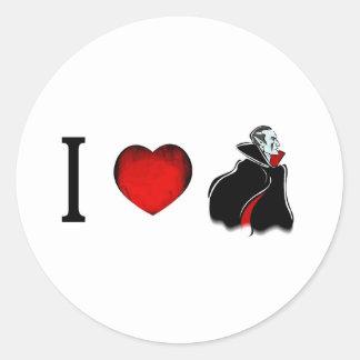 私は吸血鬼を愛します ラウンドシール