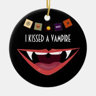 私は吸血鬼、オーナメントに接吻しました セラミックオーナメント