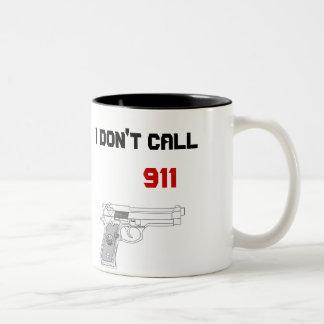 私は呼出し911 ツートーンマグカップ