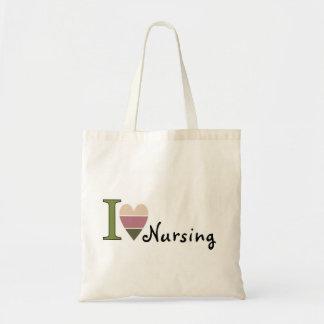 私は商品を看護することを愛します トートバッグ