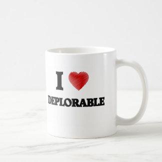 私は嘆かわしい愛します コーヒーマグカップ