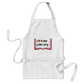 私は図書館を愛します スタンダードエプロン