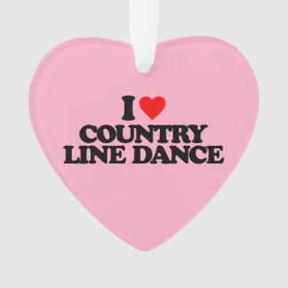 私は国のラインダンス愛します オーナメント