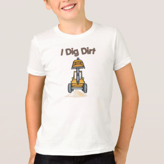 私は土を掘ります Tシャツ