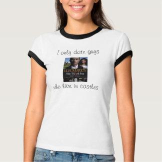 私は城のTシャツに住んでいる人だけに日付を記入します Tシャツ
