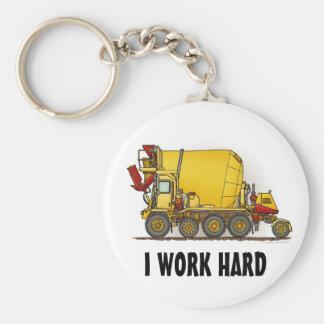 私は堅いコンクリートミキサー車のトラックのキーホルダーを働かせます キーホルダー