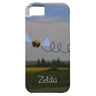 私は堅い場合Zeldaに蜂電話をかけます iPhone 5 カバー