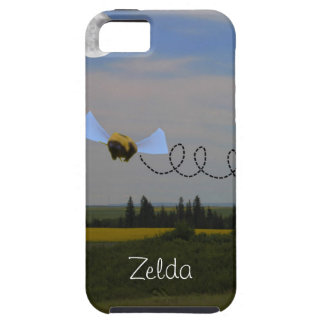 私は堅い場合Zeldaに蜂電話をかけます iPhone SE/5/5s ケース