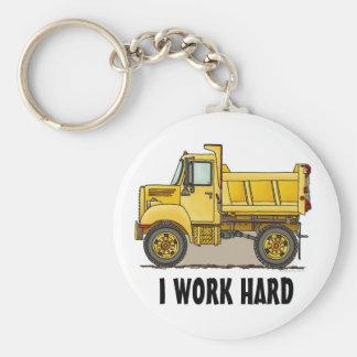 私は堅い少しダンプトラックのキーホルダーを働かせます キーホルダー