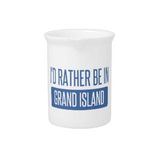 私は壮大な島にむしろいます ピッチャー