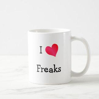 私は変種を愛します コーヒーマグカップ