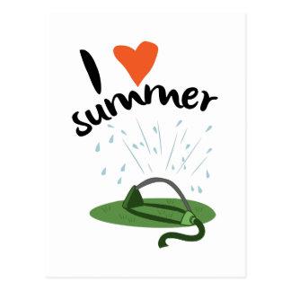 私は夏を愛します 葉書き