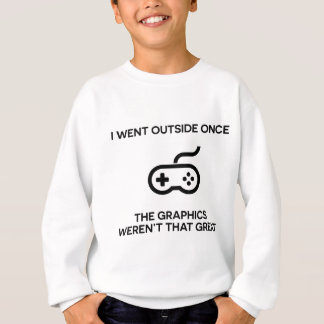 私は外側グラフィックがそのgreaでなかったら行きました スウェットシャツ
