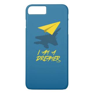 私は夢みる人はです(青い) iPhone 8 PLUS/7 PLUSケース