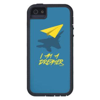 私は夢みる人はです(青い) iPhone SE/5/5s ケース