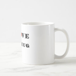 私は大きい抱擁を愛します コーヒーマグカップ