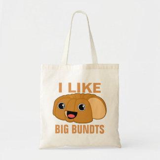 私は大きいBundtsを好みます トートバッグ