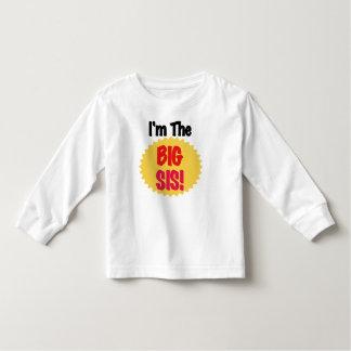 私は大きいSisです トドラーTシャツ